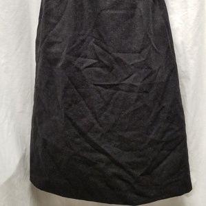 Burberry Skirts - Burberry Black Wool Skirt